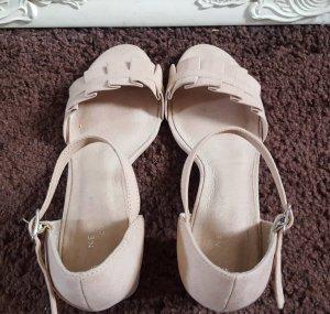 New Look Platform Sandals pink mixture fibre