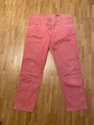 Closed 7/8 Length Trousers raspberry-red