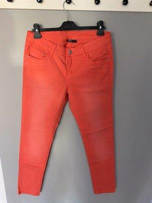 Hellrote Jeans von Esmara, Gr. 42