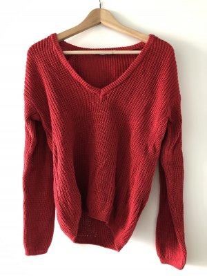 Hellroter Pullover NA-KD