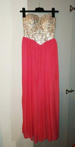 Hellrotes Abendkleid