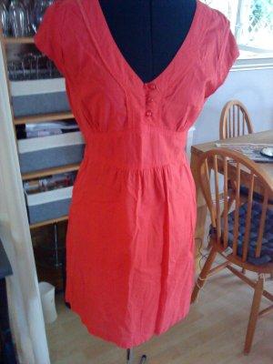 Vero Moda Mini Dress bright red-red cotton