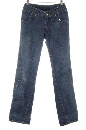 Helly hansen Boot Cut Jeans blau Washed-Optik