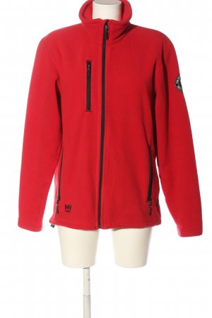 Helly hansen Giacca in pile rosso stile casual