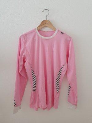 Helly Hansen Langarm Shirt Top Oberteil  medium boyfriend weiss rosa pink grau Sport Fitness