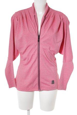 Helly hansen Sportjacke pink-schwarz meliert sportlicher Stil