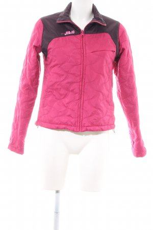 Helly hansen Steppjacke pink-schwarz Steppmuster Casual-Look