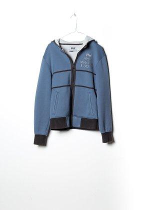 Helly hansen Maglione con cappuccio blu Cotone