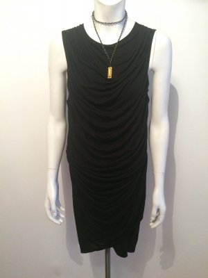 Helmut by Helmut Lang Kleid Gr.M (36/38)drapiert schick Party Neu business