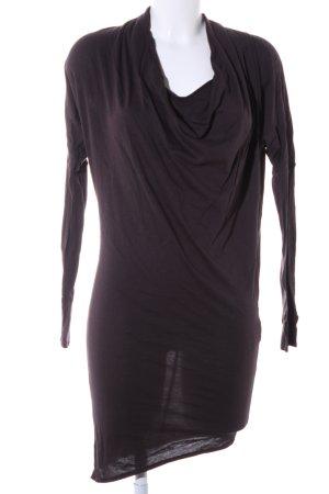 Jerseykleid braun Casual-Look