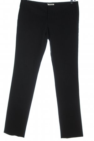 Helmut Lang Pantalone da abito nero stile casual