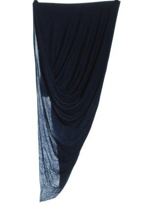 Helmut Lang Asymmetrische rok blauw casual uitstraling