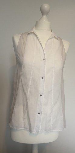 Helmut Lang Camicetta a maniche corte bianco-bianco sporco