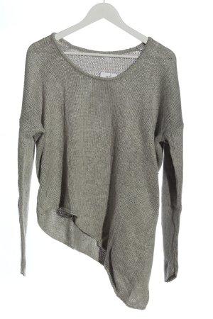 Helmut Lang Pullover a maglia grossa grigio chiaro stile casual