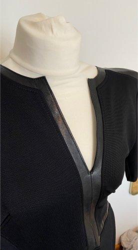 Helmut Lang Vestito in pelle nero