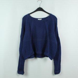 HELMUT LANG Pullover Gr. S blau oversized (20/02/431*)
