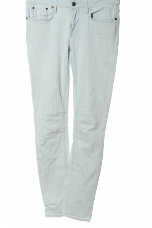Helmut Lang Jeans a sigaretta turchese stile casual