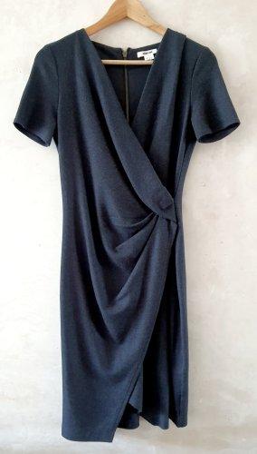 Helmut Lang Sonar wool dress S