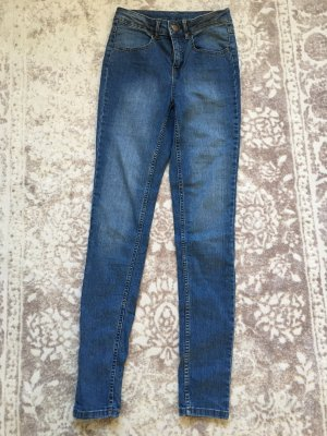 Hema Skinny Jeans blue