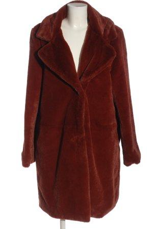 Hema Fake Fur Coat red casual look