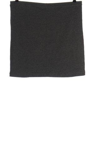 Hema Minigonna grigio chiaro puntinato stile casual