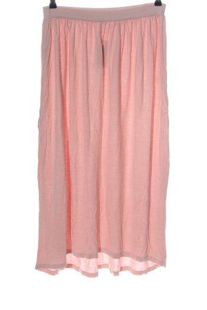 Hema Gebreide rok roze casual uitstraling