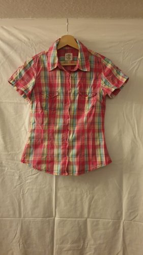 H&M Short Sleeve Shirt multicolored cotton