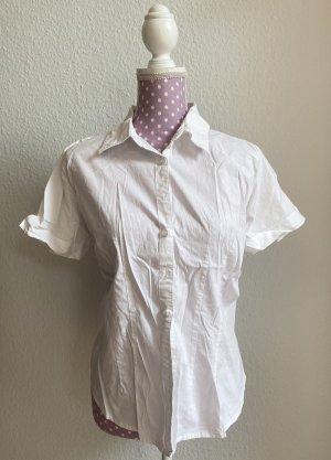 Janina Camisa de manga corta blanco