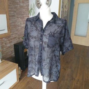 Zabaione Short Sleeve Shirt black-dark grey