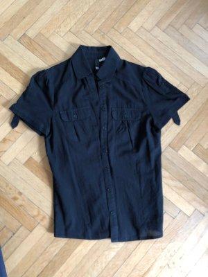 H&M Shirt met korte mouwen zwart