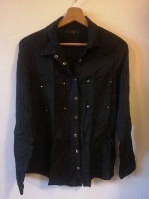bpc bonprix collection Camicia a maniche lunghe nero