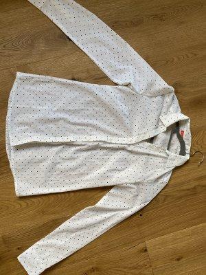 Camicia di flanella bianco-nero