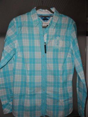 Tommy Hilfiger Kołnierzyk koszulowy jasnoniebieski-biały Bawełna
