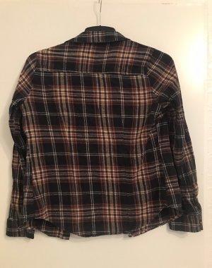Primark Houthakkershemd zwart-donkerrood