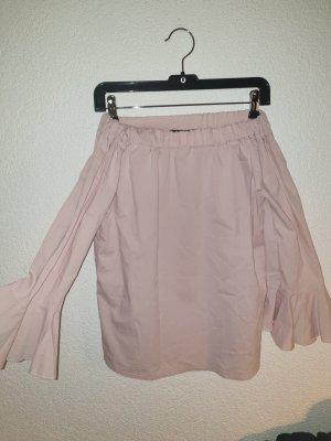 Top spalle scoperte rosa pallido