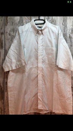 Olymp Camisa de manga corta gris claro-blanco