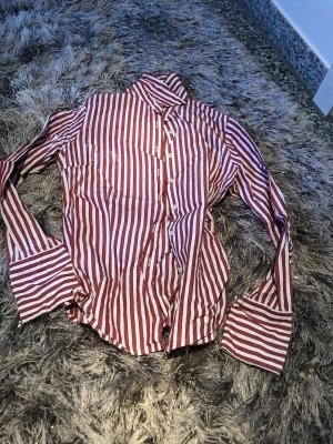 0039 Italy Long Sleeve Shirt white-red