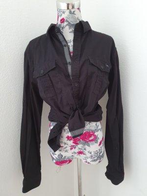 AF Oversized blouse zwart