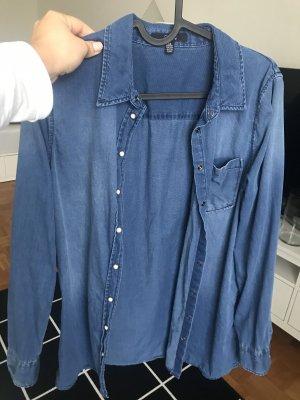 Mavi Spijkershirt blauw