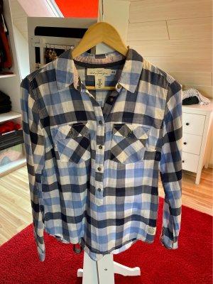 H&M Koszula w kratę niebieski