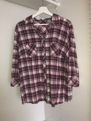 Adagio Geruite blouse veelkleurig