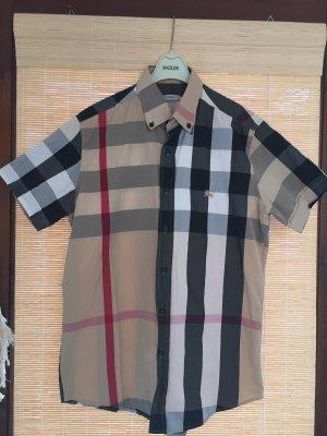 Burberry London Short Sleeve Shirt multicolored cotton