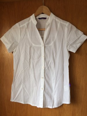 Arizona Camisa de manga corta blanco Algodón
