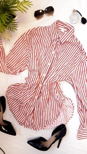 Hemd Artsy Kid gestreift rot und weiß Tumblr Style