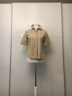 Calvin Klein Leren shirt veelkleurig