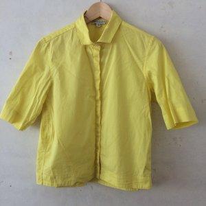 Marie Lund Camisa de manga corta amarillo-amarillo neón