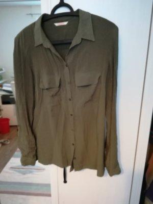 Camaieu Shirt Blouse khaki