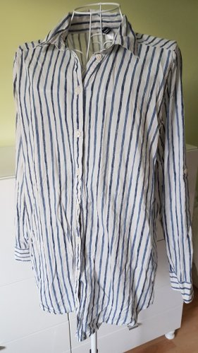 Hemd Blau/Weiß gestreift Gr. 38