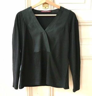 Hemd/Bluse aus Baumwolle und Seide