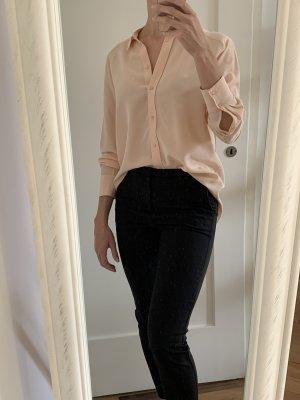 Hemd-Bluse aus Seide von H&M Premium Quality